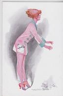 Maurice Pépin Illustrateur Porte-Bonheur Femme Et Carafe Cassée - Pepin