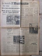 Journal L'Humanité (3 Janvier 1947) Bataille Des Prix - Comité Des Houillères- Usine Salmson - Hôpitaux Parisiens - Periódicos