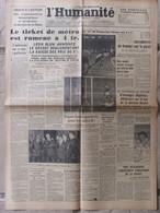 Journal L'Humanité (2 Janvier 1947) Baisse Des Prix - Viet Nam - A La Hispano-Suiza -France-Ecosse - Periódicos