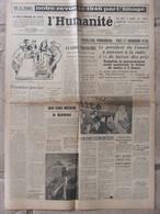 Journal L'Humanité (1er Janvier 1947) Prix Et Minimum Vital - Ho Chi Minh - L'année 1946 En Photos - Periódicos
