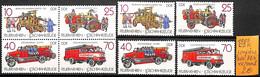 [832989]TB//**/Mnh-Allemagne 1987 - DDR Avec BD4, Sapeurs-Pompiers - [6] Democratic Republic