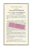 DD 278. THERESIA PRINCEN  Wed. H. Rossillion En J. Machiels -  °VEULEN 1893 / +HOEPERTINGEN 1958 - Devotion Images