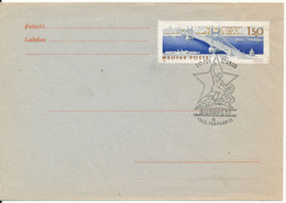 Hungary Cover Budapest 4-2-1965 With Special Postmark Free For 20 Years - Hungary