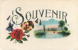 Fantaisie - Un Souvenir  Fleurs   N 1724 - Andere