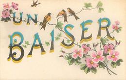 Fantaisie - Un Baiser Fleurs Oiseaux  N 1724 - Andere