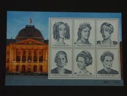 België Belgique 2001 Dynastie 6 Reines Koninginnen 2971-2976 BL89 Yv Bloc 85 MNH ** - Bloques 1962-....