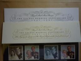 GREAT BRITAIN SG 2011-14 ROYAL GOLDEN WEDDING PRESENTATION PACK - Feuilles, Planches  Et Multiples