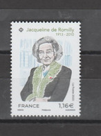 FRANCE / 2020 / Y&T N° 5380 ** : Jacqueline De Romilly X 1 - Nuevos