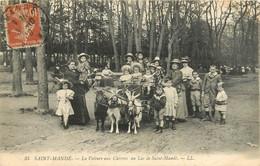 94 SAINT MANDE - LA VOITURE AUX CHEVRES AU LAC DE SAINT MANDE - Saint Mande