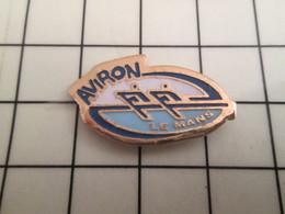 410e Pin's Pins / Rare Et De Belle Qualité !!! THEME SPORTS / CLUB AVIRON LE MANS - Canottaggio