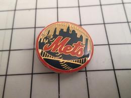 517 Pin's Pins / Rare Et De Belle Qualité !!! THEME SPORTS / BASEBALL EQUIPE DES METS - Baseball