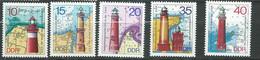 Allemagne Orientale - DDR -  Série Yvert N° 1634 à 1638 **  5 Valeurs Neuves Sans Charnière - PA 19704 - Unused Stamps