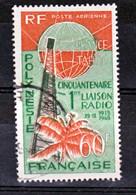 Polynésie PA  16  Liaison Radio Avec La Métropole Used Oblitéré Cote 17 - Oblitérés