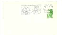CHATEAU = 44 HERBIGNAC 1985 = FLAMME Type II = SECAP Illustrée  ' Parc Naturel De Briere' - Mechanical Postmarks (Advertisement)