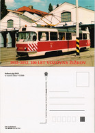 Postcard .Tschechien Sněhový Pluh 5418 Žižkov Tram Straßenbahn 2009 - Dresden