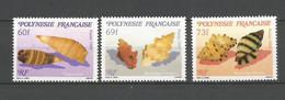 Timbre De Polynésie Francaise En Neuf ** N 343/345 - Polinesia Francese
