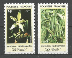 Timbre De Polynésie Francaise En Neuf ** N 350/351 - Polinesia Francese