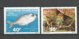 Timbre De Polynésie Francaise En Neuf ** N 352/353 - Polinesia Francese