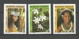 Timbre De Polynésie Française Neuf** N 371/373 - Polinesia Francese