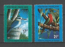 Timbre De Polynésie Française Neuf** N 383 / 384 - Polinesia Francese