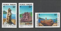 Timbre De Polynésie Française Neuf** N 386 / 388 - Polinesia Francese
