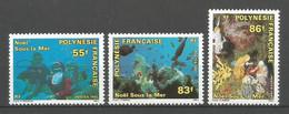 Timbre De Polynésie Française En Neuf ** N 396/398 - Polinesia Francese