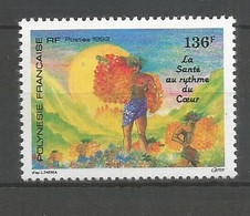 Timbre De Polynésie Française Neuf ** N 408 - Polinesia Francese