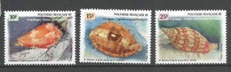 Timbre De Polynésie Française Neuf ** N 503/505 - Polinesia Francese