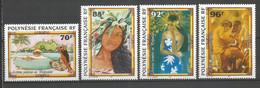 Timbre De Polynésie Française Neuf ** N 520/523 - Polinesia Francese
