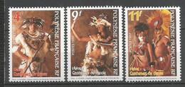 Timbre Polynésie Française En Neuf ** N 533/535 - Polinesia Francese
