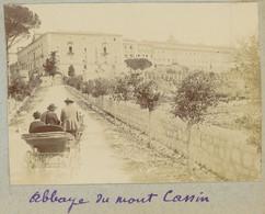 Abbaye Du Mont Cassin. Monte Cassino. Italie. Italia. 1908. Album De L'historien Gérard De Beauregard. - Plaatsen