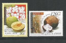 Timbre De Polynésie Française En Neuf ** N 588/589 - Polinesia Francese