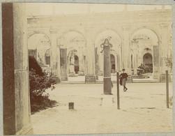 Les Cours Du Mont Cassin. Monte Cassino. Italie. Italia. 1908. Album De L'historien Gérard De Beauregard. - Plaatsen