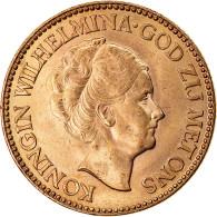 Monnaie, Pays-Bas, Wilhelmina I, 10 Gulden, 1933, SUP, Or, KM:162 - 10 Gulden