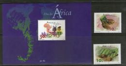 Angola 2001 Musical Instrument Elephant Computer Sc 1185-87 2v+M/s MNH # 5193 - Musica