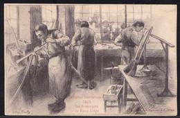 VIEILLE CPA LIEGE EXPOSITION INTERNATIONALE  1905 - LES ARMURIERS AU VIEUX LIEGE - Liege