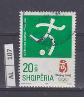 ALBANIA     2008Olimpiadi 20 Usato - Albania