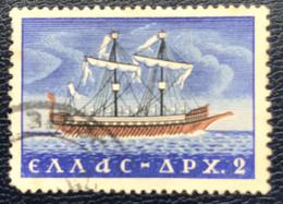 Greece - Griekenland - P3/21 - (°)used - 1958 - Michel 672 - Handelsscheepvaart - Gebraucht