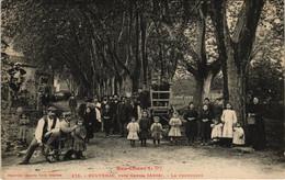 CPA ROUVENAC - La Promenade (116431) - Other Municipalities