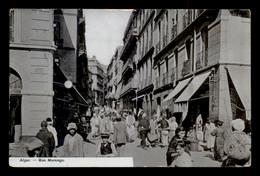 ALGERIE - ALGER - RUE MARENGO - Alger