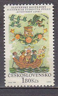 L3477 - TCHECOSLOVAQUIE Yv N°1697 ** CONTES - Unused Stamps