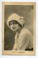 ARTISTE 1446 Yvette ANDREYOR   Photog Reutlinger - Entertainers
