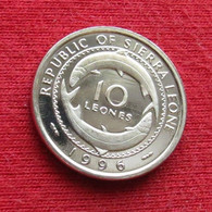 Sierra Leone 10 Leones 1996 Serra Leoa Sierra Leona UNCºº - Sierra Leone