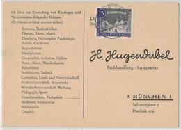 LA88    BRD 1963 - Drucksache Bücherzettel Von Berlin Nach München - Brieven En Documenten