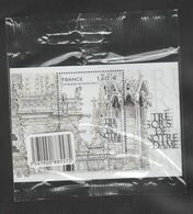 """FRANCE / 2020 / Y&T BF N° 151 ** (Feuillet """"Trésors De Notre-Dame De Paris"""" : Facades) X 1 (sous Blister) - Mint/Hinged"""