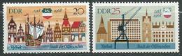 Allemagne Orientale -DDR -  Série Yvert N° 1080 à 1081 ** 2 Valeurs Neuves Sans Charnière  -  PA 19904 - Unused Stamps