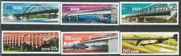 Allemagne Orientale -DDR -  Série  Yvert N° 1839 à 1844  ** 6 Valeurs Neuves Sans Charnière  -  PA 20005 - Unused Stamps