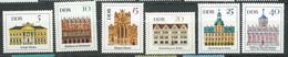 Allemagne Orientale -DDR -  Série  Yvert N° 942 à 947  ** 6 Valeurs Neuves Sans Charnière  -  PA 20007 - Unused Stamps