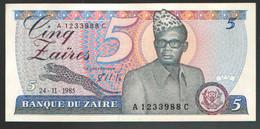 ЗАИР  5 1985 - Zaire