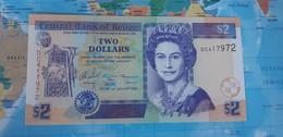 BELIZE BELICE 2 DOLLARS 2005 P66b UNC - Belize